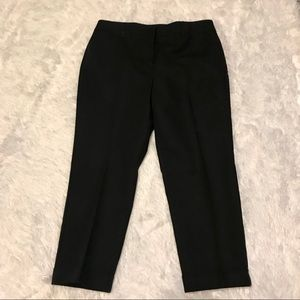 Chicos so slimming cropped black pants